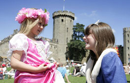 Experience the thrills of Medieval Glamping at Warwick Castle