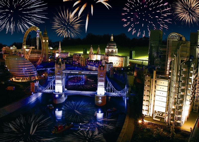 Legoland Windsor Fireworks