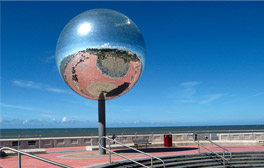 Experience the beauty of art outdoors in Blackpool