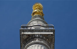 Climb the 311 steps of the Monument for views over the City