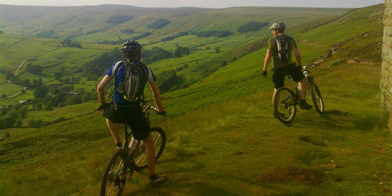 Mountain Biking in Niddledale