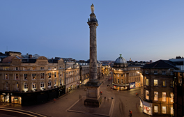 Experience panoramic views on Grey's Monument