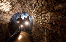 Explore the hidden Victoria Tunnel beneath Newcastle