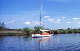 Segeln in den Norfolk Broads