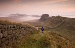 Zelten am Hadrianswall