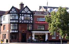 Drink where the Black Prince once dined at the Maids Head