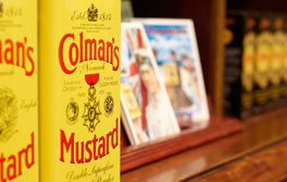 Have a taste of Colman's Mustard Chocolate