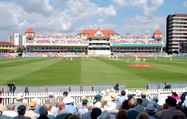 Watch a cricket match at world famous Trent Bridge