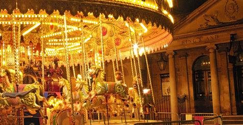 Carousel at an English Market
