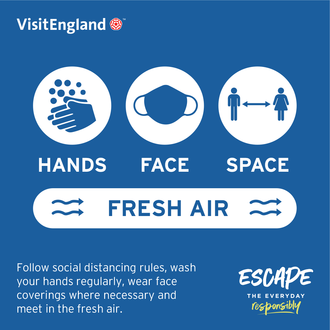 Hands, face, space infographic ETER