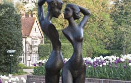 Explore the quintessential English garden of Pashley Manor