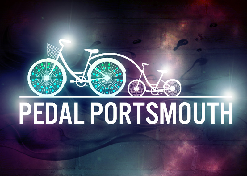 Pedal Portsmouth logo
