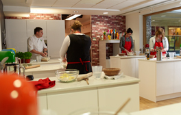 Cook up a storm in the kitchen with TV chef Peter Sidwell