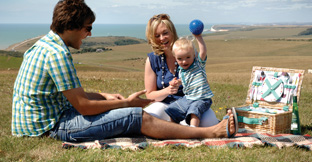 Find picnic spots in England, UK