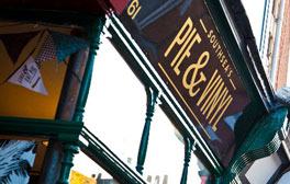 Fill up on pie, mash and music at Pie & Vinyl