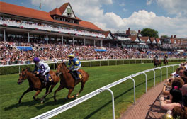 A thrilling day at the Chester Races