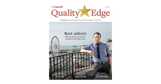 Front cover of Quality Edge, issue 20