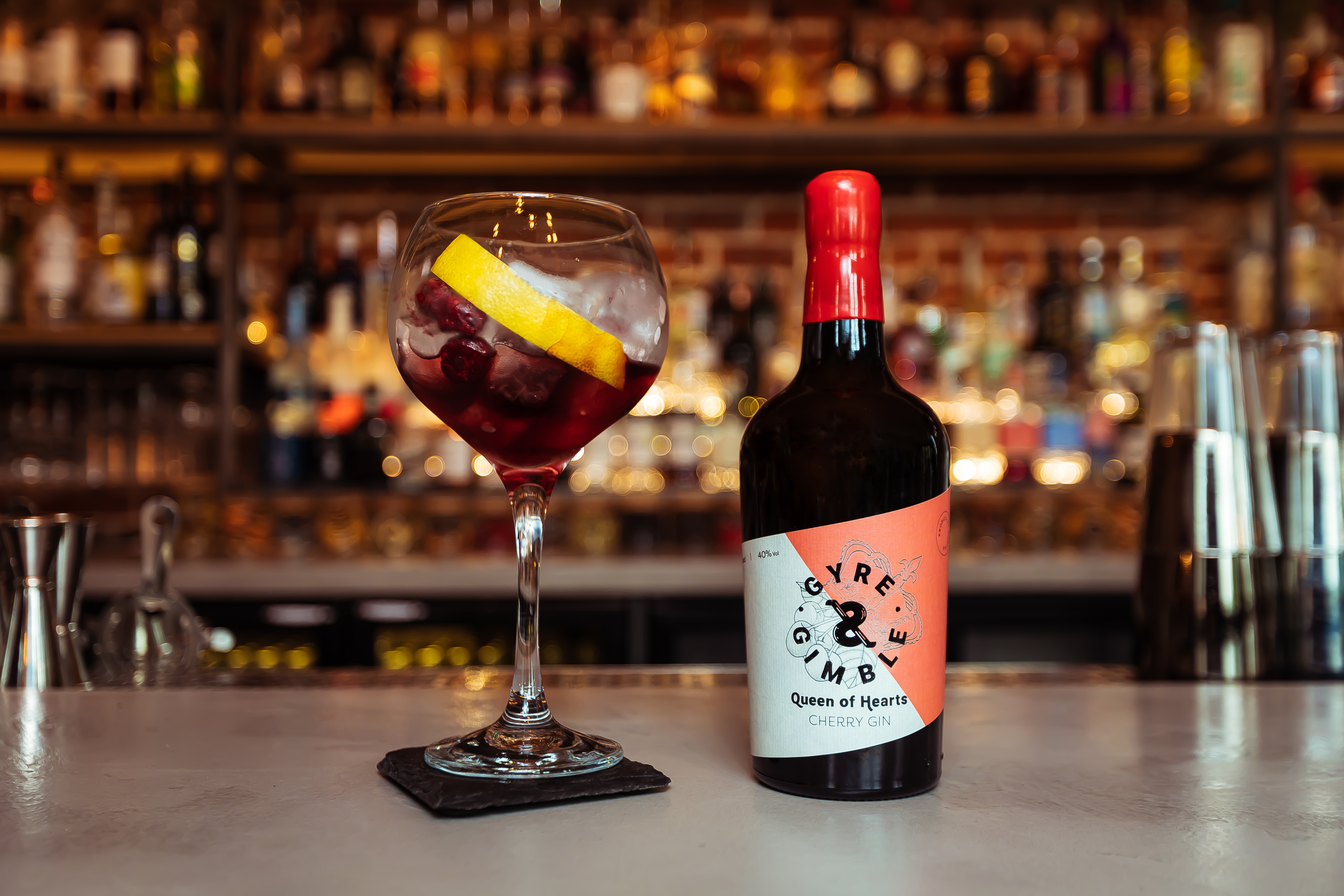 The Queen of Hearts gin from Gyre & Gimble