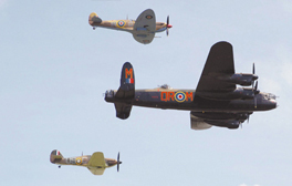 'Chocks away' in Lincolnshire