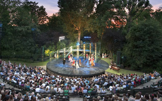 Open air theatre in London's Regent's Park