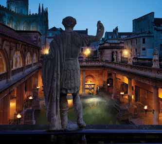 Romantic breaks: Roman Baths