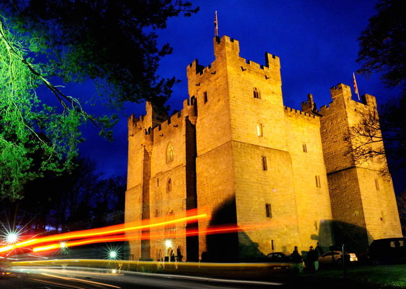 Romantic things to do at Langley Castle, Northumberland