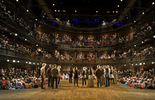 Royal Shakespeare Theatre in Stratford-upon-Avon