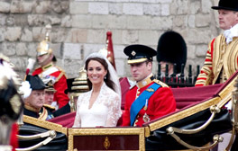 See where Wills and Kate said 'I do' at Westminster Abbey