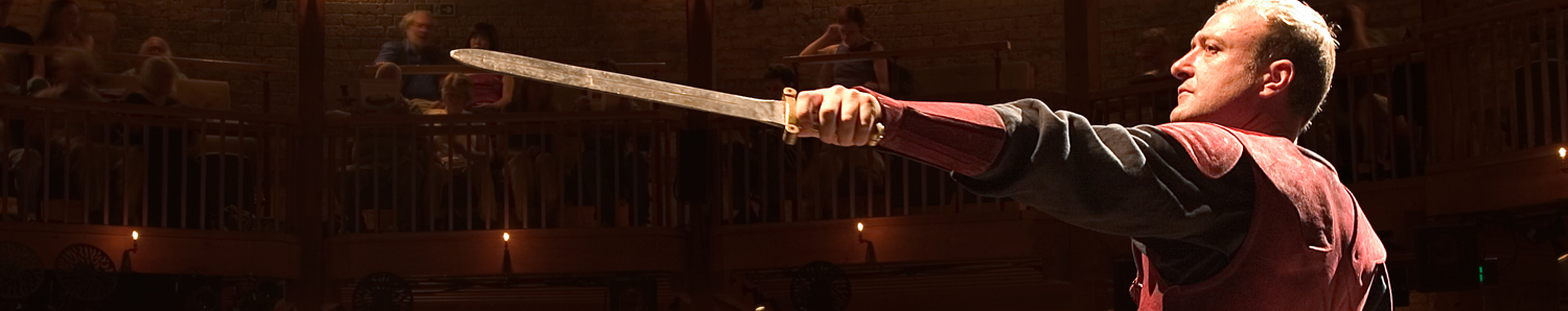 A performance at the Royal Shakespeare Company in Stratford-upon-Avon