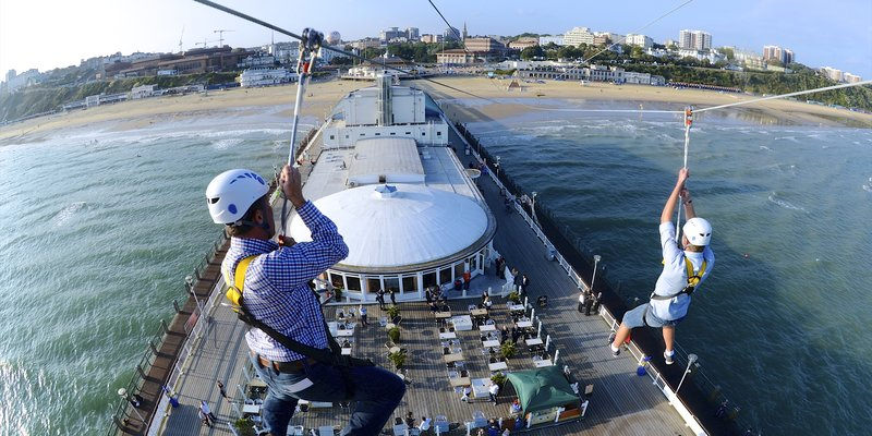 PierZip at Bournemouth Pier © VisitBournemouth
