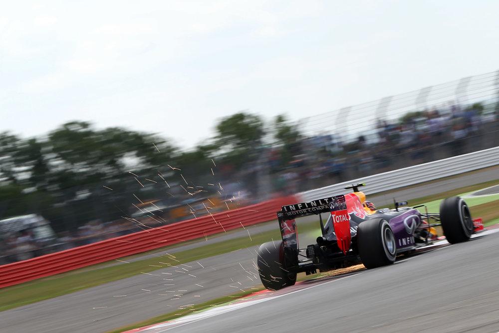 Daniil Kvyat at the British Grand Prix