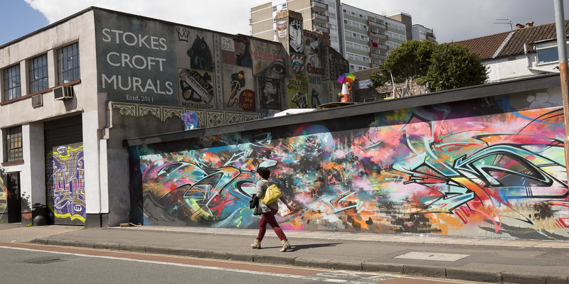 Stokes Croft Murals