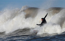 Learn to surf with Scarborough Surf School