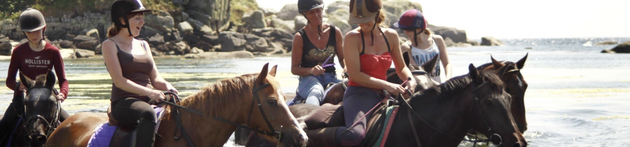 Horse riding in the Scilly Isles