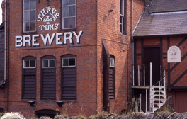 Go to the oldest brewery in Shropshire