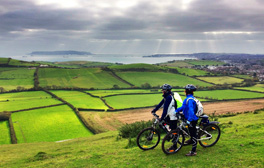 Explore the fantastic 'Jurassic Cycle Trails' whilst on holiday in Dorset