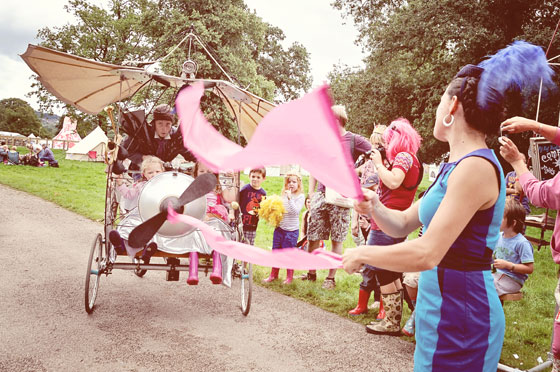 Just So Festival in Cheshire, just one of many family-friendly festivals in England