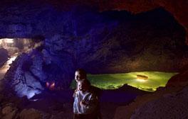 Experience the wonderful underground world of Wookey Hole