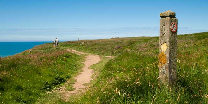 South West Coastal Path, Cornwall.