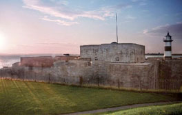 Travel Back in Time at Southsea Castle