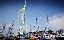 Walk on air at the Spinnaker Tower