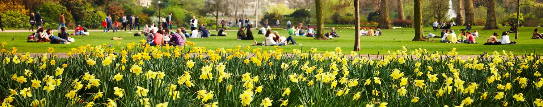 Spring breaks in the UK