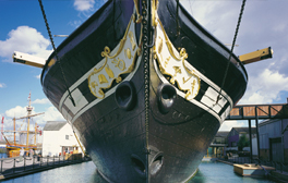 Step aboard Brunel's ss Great Britain