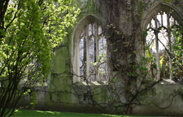 Take a moment to relax in St Dunstan in the East