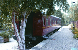Spend the night in your very own railway carriage