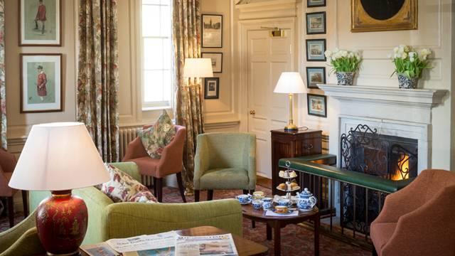 Afternoon tea at Talbot Hotel in Malton, Yorkshire