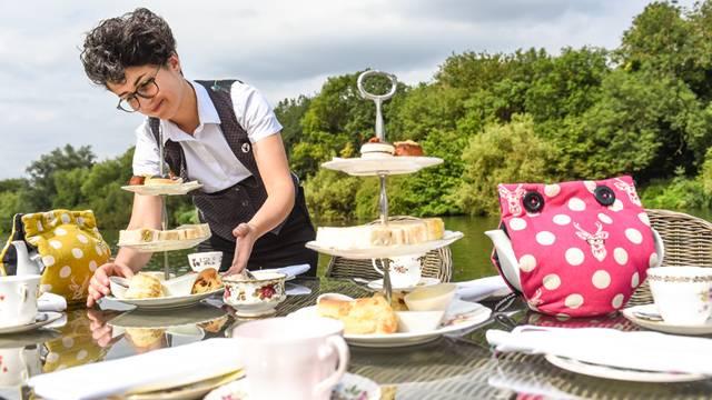 Afternoon tea in Windsor