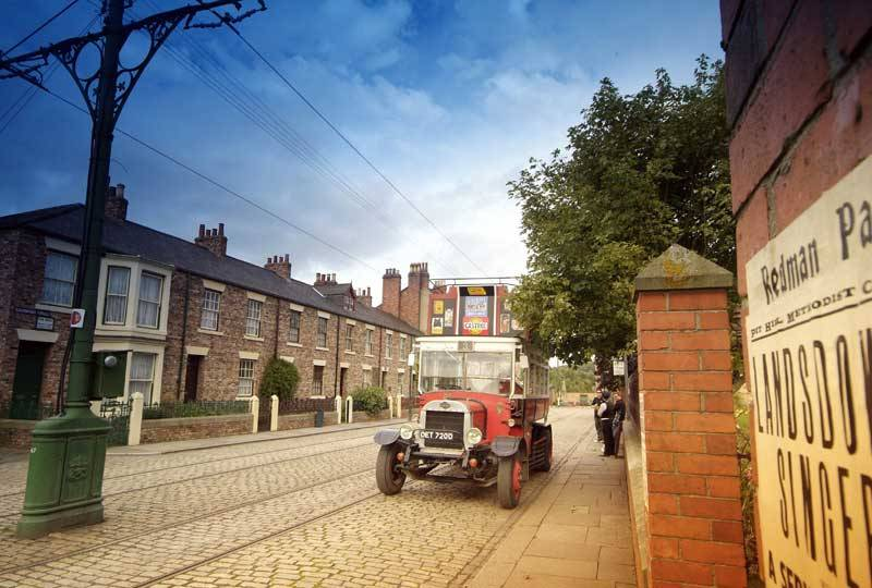 The Beamish Museum, Durham City.