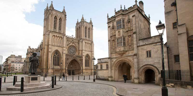 Bristol Cathedral. Copyright VisitEngland