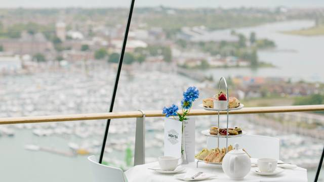 Cafe in the Clouds in Spinnaker Tower, Portsmouth